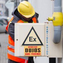 Įspėja: Vilniuje šią savaitę vėl gali būti jaučiamas dujų kvapas