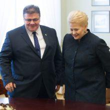 L. Linkevičius: D. Grybauskaitė naujam prezidentui pakėlė kartelę aukštai