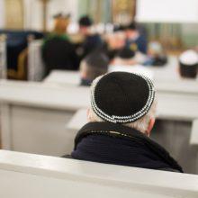 Žydų bendruomenė dėl grasinimų uždaro Vilniaus sinagogą ir savo būstinę