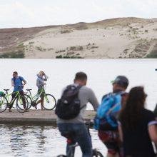 Juodkrantėje žadama atnaujinti dviračių taką