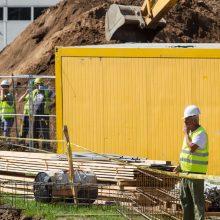 Statybų atstovai: pagreitį sektoriaus augimui suteikia besivystančios technologijos