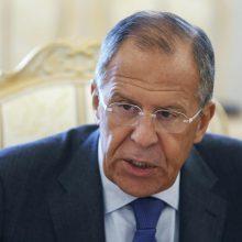 S. Lavrovas: situacija Baltarusijoje netrukus normalizuosis