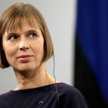 Estija prezidentę K. Kaljulaid nominavo į EBPO vadovo postą