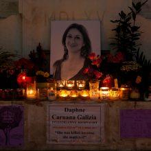 Maltos valdžia sutiko pradėti nepriklausomą tyrimą dėl žurnalistės nužudymo