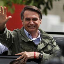 """Atogrąžų Trumpas"" J. Bolsonaro išrinktas Brazilijos prezidentu"