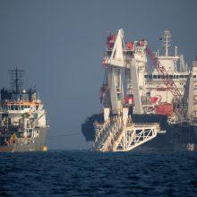 """L. Linkevičius: ES direktyva apsunkins """"Nord Stream 2"""" projektą"""