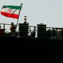 Irano supertanklaivis nebuvo konfiskuotas ir išplaukė iš Gibraltaro