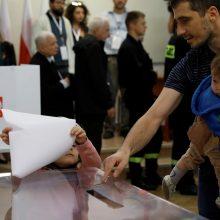 Lietuvoje balsavę lenkai palaikė pralaimėjusią opoziciją
