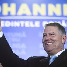 Rumunijos prezidento rinkimus laimėjo dabartinis šalies vadovas