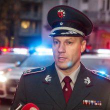 L. Pernavas nebus skiriamas vadovauti policijai antrą kadenciją