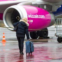 """""""Wizz Air"""" skrydžius iš Vilniaus į Oslą atnaujins trečiadienį"""