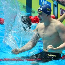 D. Rapšys vėl iškovojo auksą Singapūre ir pagerino Lietuvos rekordą