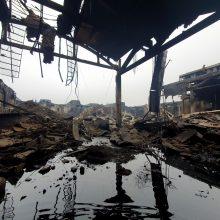 Dėl užteršto gaisravietės vandens – savivaldybės ir ministerijos ginčai