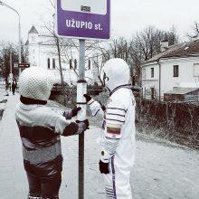 Džiazuojantys kosmonautai nusiaubė Vilnių