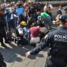 Meksikos miesto centrinėje aikštėje nušauti du profsąjungų lyderiai