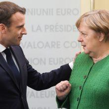 Prancūzija ir Vokietija nesutaria dėl naujojo Europos Komisijos vadovo