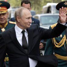 V. Putinas – ilgiausiai dirbantis Rusijos lyderis nuo J. Stalino laikų