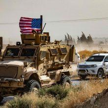 D. Trumpas nori iki Kalėdų išvesti JAV karius iš Afganistano