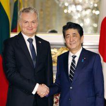 G. Nausėda Japonijos verslui pristatys investavimo galimybes Lietuvoje