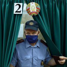 Vilniuje Baltarusijos prezidento rinkimuose iš anksto balsavo 88 asmenys