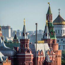 Rusija perspėjo bet kokią atskriejančią raketą laikysianti branduoline