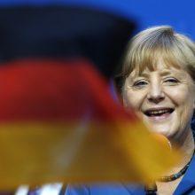 A. Merkel sveikina Vokietijos sėkmės istoriją
