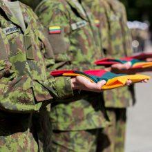 Lietuvos kariai išlydėti į misijas Afganistane, Irake ir Ukrainoje