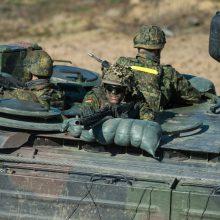 Lietuva ir Vokietija pasirašys susitarimą dėl laikino karių buvimo