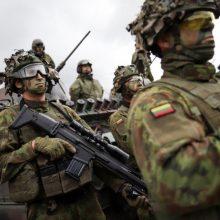 Ministras: lūkestis – paskiepyti kariuomenę per artimiausius tris mėnesius