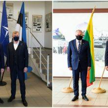 Šiauliuose susitinka Baltijos šalių gynybos ministrai