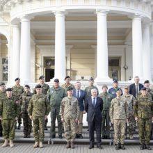 Lietuvoje vieši NATO kariniai atstovai: susipažįsta su situacija prie Aljanso rytinės sienos