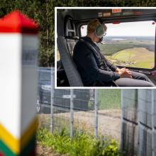 Premjerė skeptiškai vertina idėją pasienyje su Baltarusija statyti tvorą