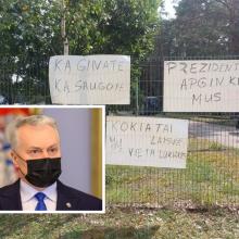 G. Nausėda: incidentas Rūdninkuose įvyko dėl valdžios dialogo su gyventojais stokos