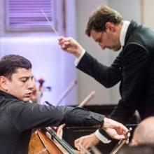 Nacionalinio simfoninio orkestro sezono pabaiga su N. Hakhnazaryanu