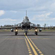 NATO naikintuvai dukart lydėjo rusų karo orlaivius