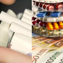 Brangsta rūkalai, daliai žmonių mažėja priemokos už vaistus