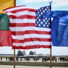 JAV įsipareigojo toliau siųsti karių į Lietuvą