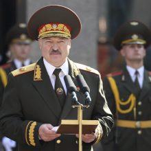 Baltarusija skelbia savo atsakomąsias sankcijas Baltijos šalims