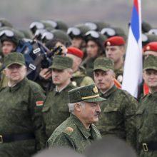 Rusijos ambasadorius Minske: NATO šalia valstybės sienos – potenciali grėsmė