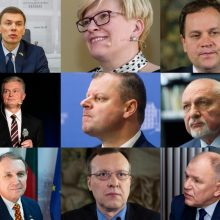 VRK registravo pirmuosius šešis kandidatus į prezidentus
