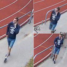 Ieško policija: šis vyras gali būti apsivogęs