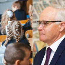 Ministras: Lietuvai neišvengiamai reikės pertvarkyti mokyklų tinklą