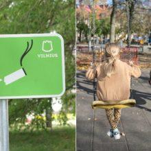 Zonos be dūmų: Vilniaus vaikų žaidimų aikštelėse nebeliks rūkalių