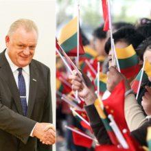 Vyriausybės kancleris A. Stončaitis su delegacija lankysis Kinijoje