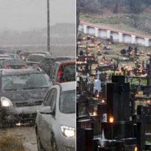 Netrukus link kapinių pajudės kolonos: vairuotojams – du svarbūs įspėjimai