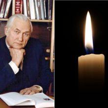 Mirė žinomas advokatas, buvęs Seimo narys V. Zabiela