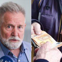 A. Sysas perspėjo apie grėsmę laiku negauti pensijos