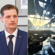 Ministras nustebęs dėl gaisravietės vandens tyrimo: duomenys tikrai kitokie