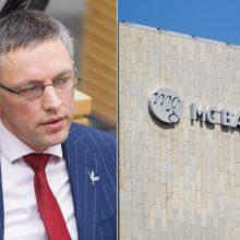 "Teisme – tarpinė ""MG Baltic"" pergalė byloje prieš V. Baką"