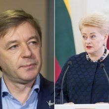 R. Karbauskis: prezidentė daro politinį šou ir bando kenkti S. Skverneliui